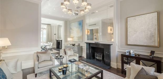 Eaton Place, Belgravia, London, SW1X (Living Room)