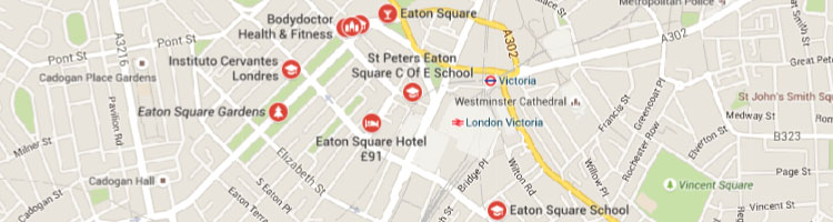 Eaton square map