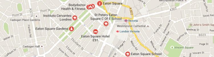 Eaton square map