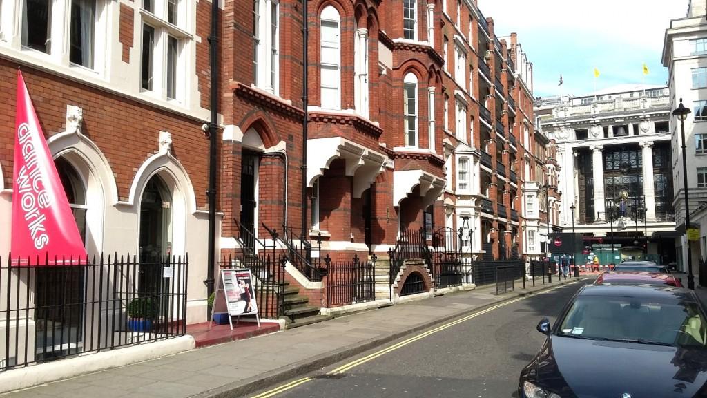 Danceworks studio mayfair london