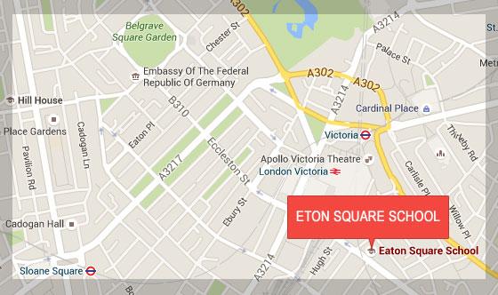 Eaton Square School 79 Eccleston Square London SW1V 1PP