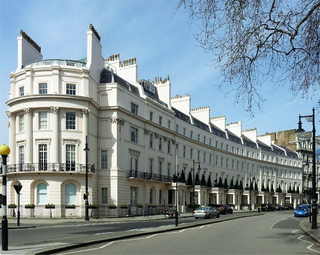 Grosvenor Crescent in property rich list