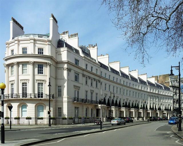 Grosvenor Crescent in property rich list
