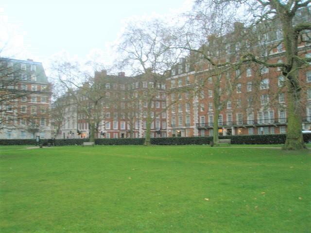 Mayfair's Grosvenor Square