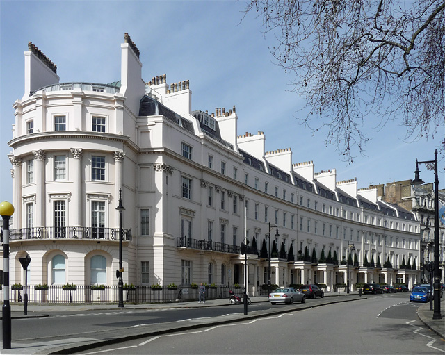 Belgravia's Grosvenor Crescent